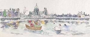 Galway Cathedral - Greeting Card Christmas