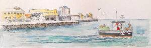 Spanish Arch Galway - Christmas Greeting Card