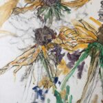 Hellenium, mixed media on canvas, 65cm x 45cm, 2013