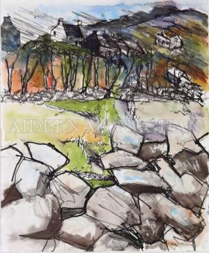 Deserted Houses Aran Islands - Aideen Monaghan