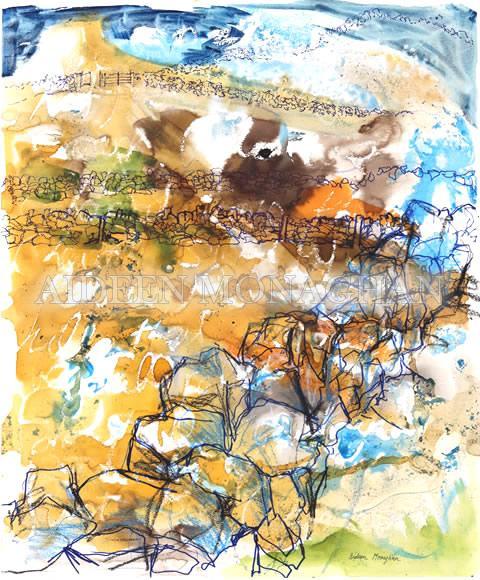 Fields on Aran - Aideen Monaghan